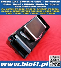 DX5 GPP-0141MUT (DF-49029) - GŁOWICA EPSON DX5 - Drukarki MUTOH Water Based | Oryginal, Made In Japan
