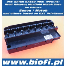 DX5 Water Based Inks Adapter, Manifold MUTOH, EPSON Base (PPE+PS) EPSON Original