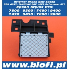 FLUSHING BOX LEFT SIDE BOX ASSY. - SPLUWACZKA LEWA