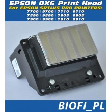 DX6 F191040 - GŁOWICA EPSON  F191040 Solvent Based - Oryginal, Made In Japan