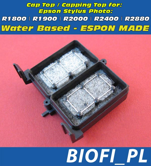 DX5 Water Based Cap Top, Capping do drukarek Epson Stylus Photo: R1800, R1900, R2000, R2400, R2880