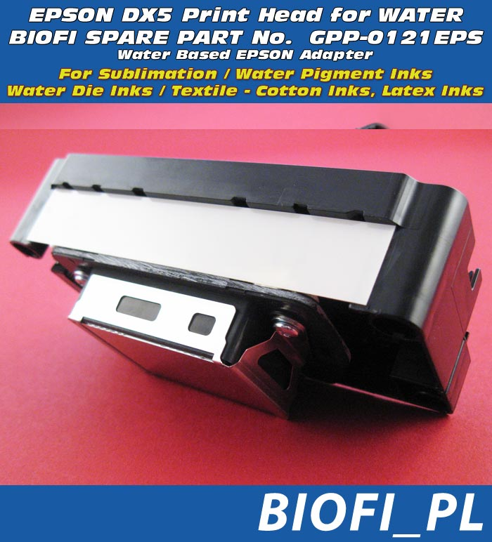 EPSON DX5 PrintHead for Water Based Printers, GPP-0121EPS WATER BASED