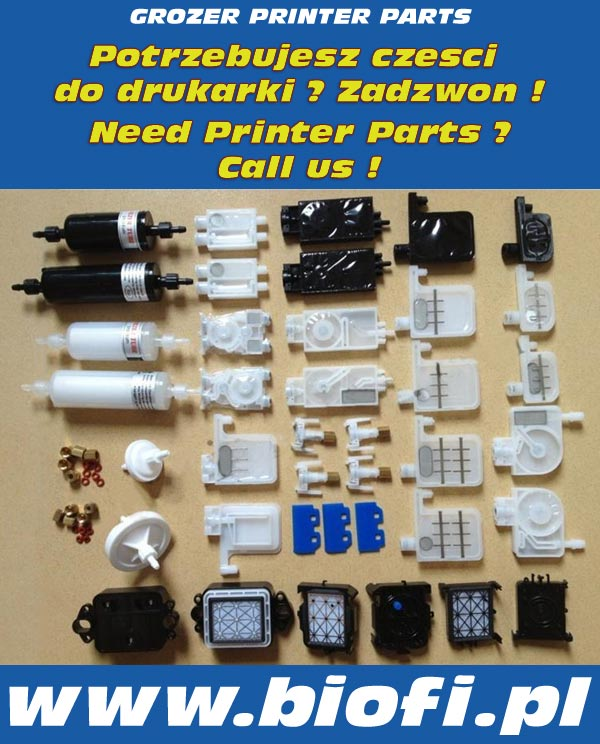 You need printer parts ? Contact US !