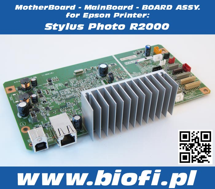MotherBoard - MainBoard Board ASSY for Epson Stylus Photo R2000 Printer