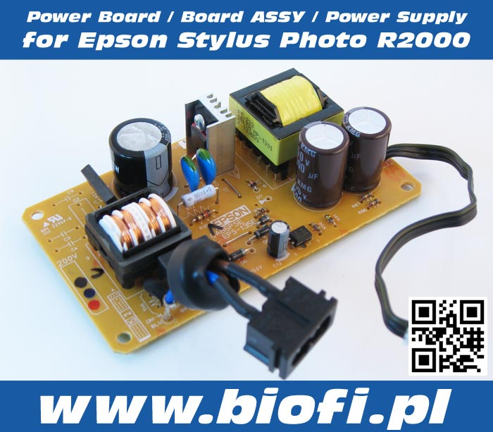Power Board / Board Assy / Power Supply for Epson Stylus Photo R2000 Printer